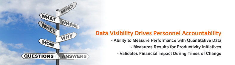 Data Visibility Drives Personal Accountability